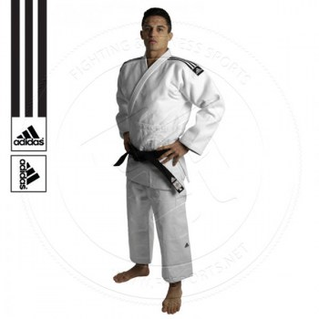 Adidas Judo Gi Champion II IJF Approved White-01