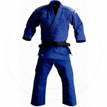 Adidas Judo Gi J500 Training Blue-01