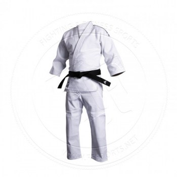 Adidas Judo Gi J500 Training WhiteBlack Stripes - 01