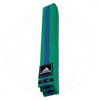Adidas Taekwondo Poomsae Band Green Blue