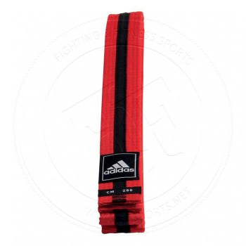 Adidas Taekwondo Poomsae Band Red Black