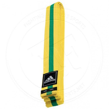 Adidas Taekwondo Poomsae Band Yellow Green