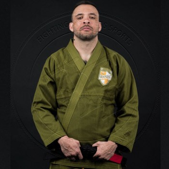 Booster BJJ Gi Pro-Shield Olive Green - 01