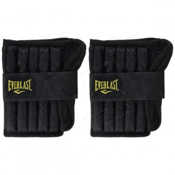 Everlast Adjustable Ankle Weights (5lb pair) - 01
