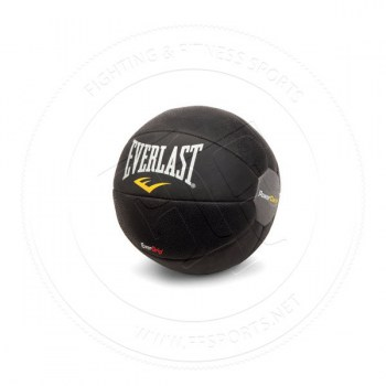 Everlast Rubber Medicine Ball 4 Kilos (9lbs) Black
